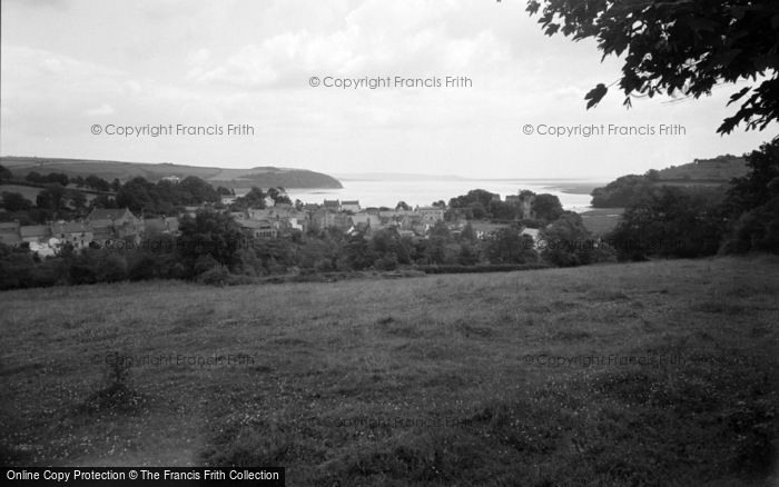 Photo of Laugharne, General View 1960