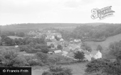 Laugharne, General View 1960