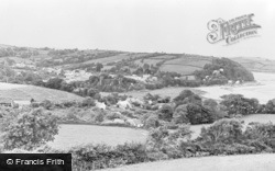 Laugharne, General View c.1955