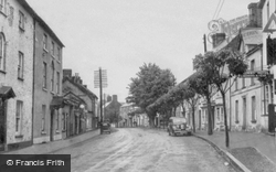 Laugharne, King Street c.1955