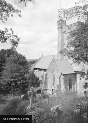 Laugharne, St Martin's Church 1960