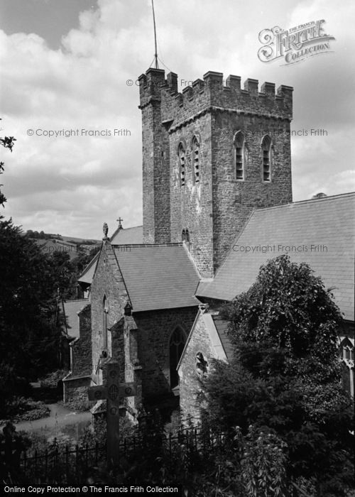Photo of Laugharne, St Martin's Church 1960
