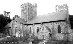 Laugharne, St Martin's Church c.1960
