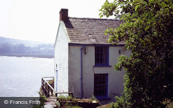 Laugharne, The Boat House, Home Of Dylan Thomas 1987
