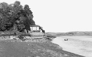 Laugharne, the Boathouse c1955