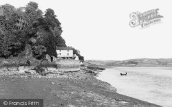 Laugharne, The Boathouse c.1955