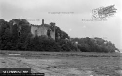 Laugharne, The Castle 1958