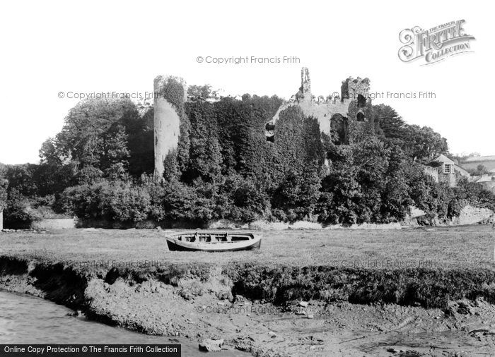 Photo of Laugharne, The Castle c.1931