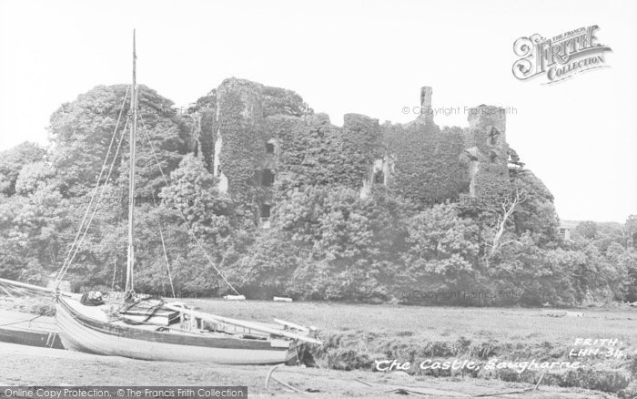 Photo of Laugharne, The Castle c.1955