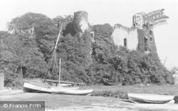 Laugharne, The Castle c.1955