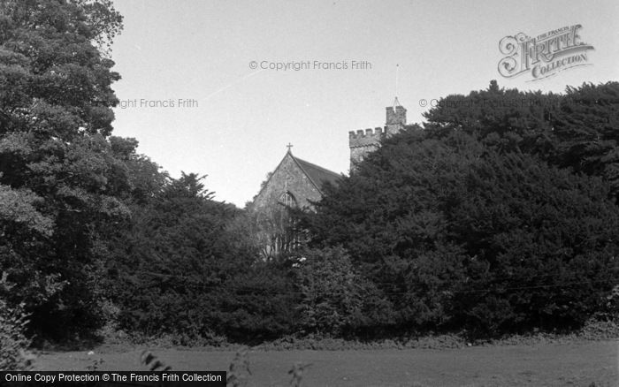 Photo of Laugharne, The Parish Church 1954