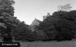 Laugharne, The Parish Church 1954