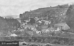 Laugharne, View From Fern Hill c.1955