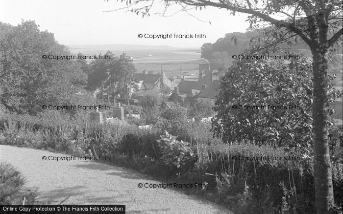 Photo of Laugharne, Village And Estuary From Fern Hill 1954
