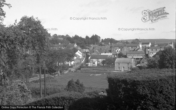 Photo of Laugharne, Village From Fern Hill 1954