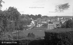Laugharne, Village From Fern Hill 1954