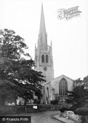 Laughton En Le Morthen, All Saints' Church c.1965