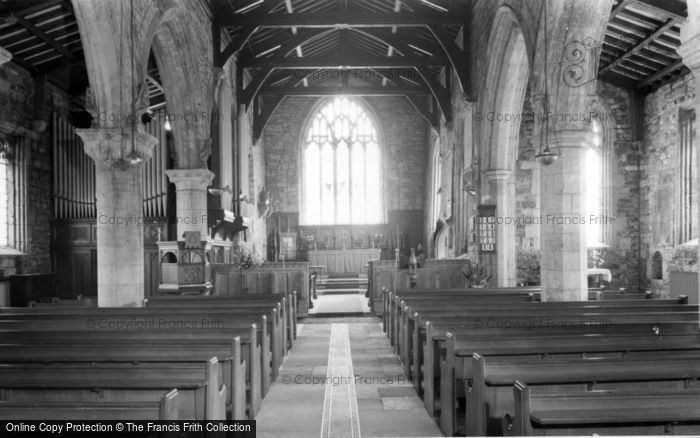 Photo of Laughton En Le Morthen, All Saints Church Interior c.1965
