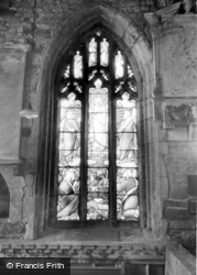 Laughton En Le Morthen, All Saints Church Interior c.1965
