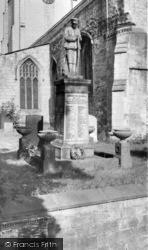 Laughton En Le Morthen, War Memorial c.1960