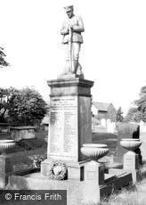Laughton en le Morthen, War Memorial c1960