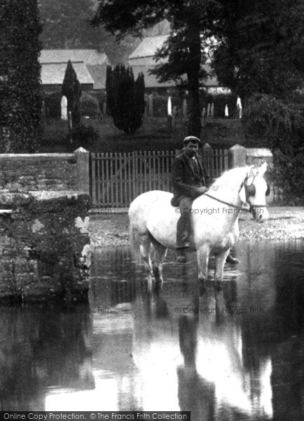 Photo of Launceston, A Horseman 1906