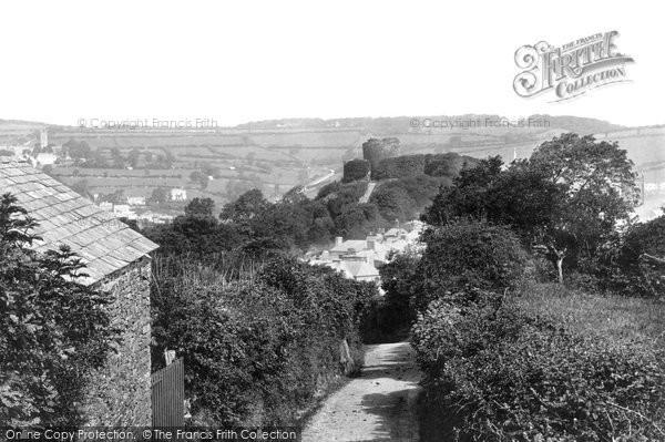 Photo of Launceston, Castle 1893