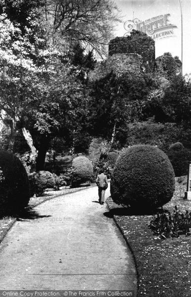 Photo of Launceston, Castle c.1955