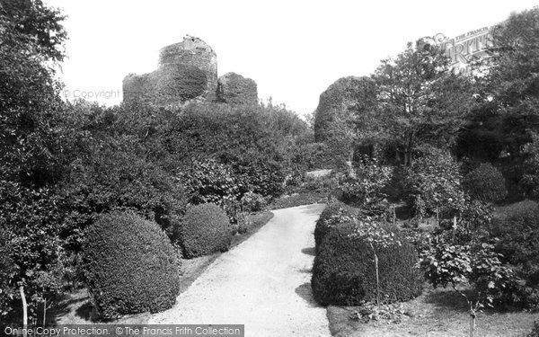 Photo of Launceston, Castle From The South West 1890