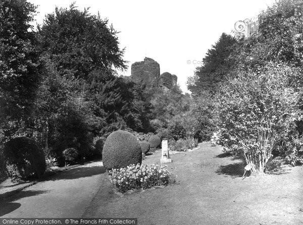 Photo of Launceston, Castle Gardens 1935