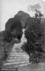 Launceston, Castle Steps c.1875
