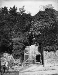 Launceston, Castle, West Gate c.1875