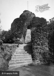 Launceston, Castle With Steps 1890