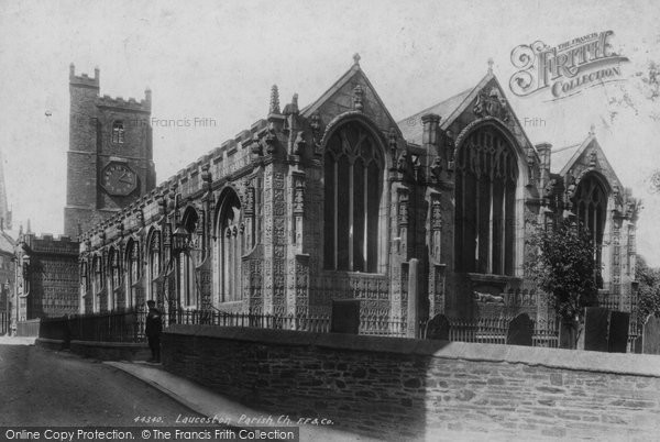 Photo of Launceston, Church Of St Mary Magdalene 1899