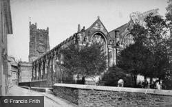 Church Of St Mary Magdalene c.1880, Launceston