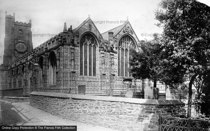 Photo of Launceston, Church Of St Mary Magdalene From South East 1893