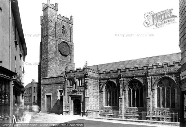 Photo of Launceston, Church Of St Mary Magdalene From The South 1890