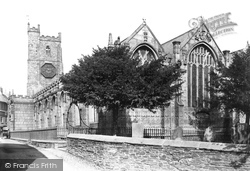 Launceston, Church Of St Mary Magdalene From The South-East 1890