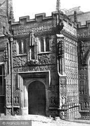 Launceston, Church Porch c.1875