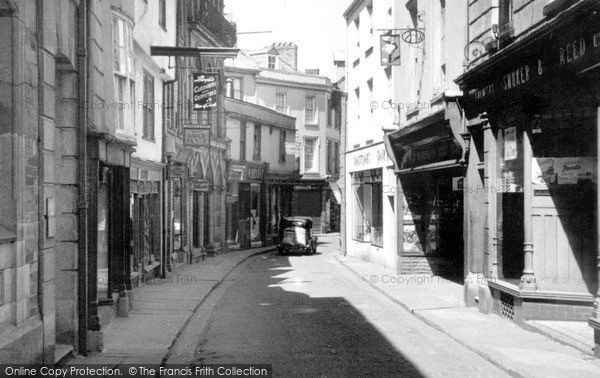 Photo of Launceston, Church Street c.1949