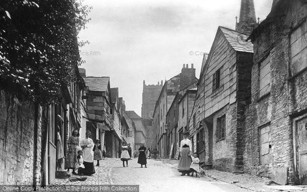 Photo of Launceston, Fore Street 1893