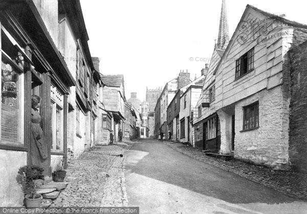 Photo of Launceston, Fore Street 1906