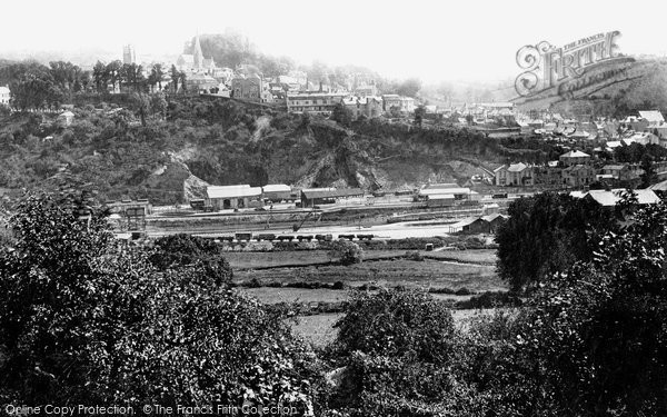 Photo of Launceston, From Above The Station 1893