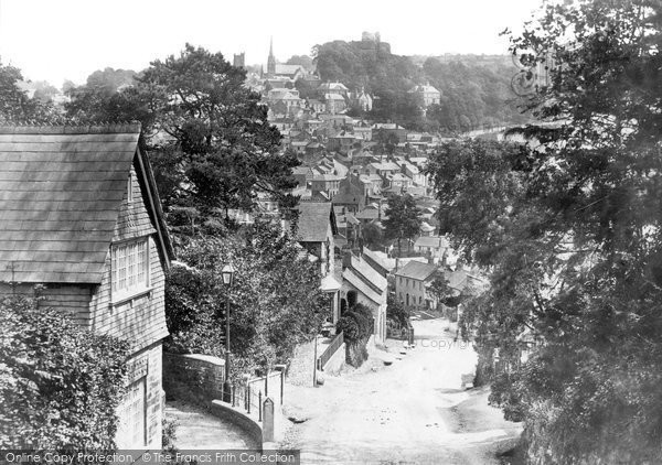 Photo of Launceston, From St Stephen's Hill 1893