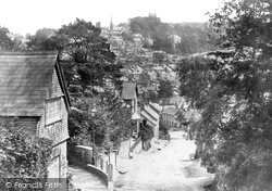 Launceston, From St Stephen's Hill 1893