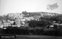 Launceston, From St Stephens 1890