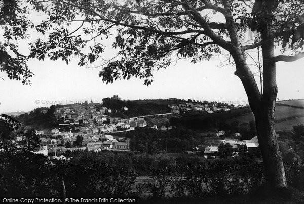 Photo of Launceston, From St Stephens 1890