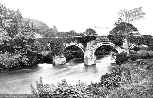Photo of Launceston, Greystone Bridge c.1875