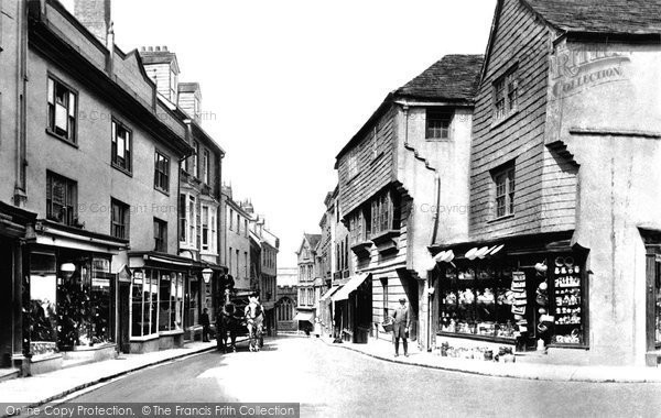Photo of Launceston, High Street 1906