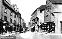 Launceston, High Street 1906